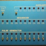 Clock/Sequencer Front Panel