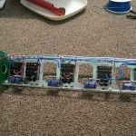Clock Rail Partially Wired
