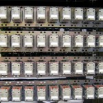 Registers A-D Mounted in Rack