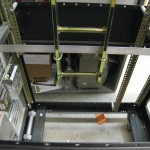 Lower Attachment of Cable Ladder