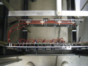 Power System Installed in Rack